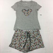 Disney parks Mickey Mouse Pajama Short Set Womens Size XS