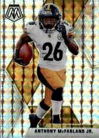 2020 Panini Mosaic Mosaic #237 ANTHONY MCFARLAND JR. RC Rookie  Steelers