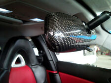 3D REAL GLOSSY CARBON FIBER REARVIEW MIRROR COVER FOR MAZDA RX-8 MAZDASPEED JDM