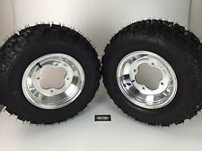 NEW Honda TRX300EX TRX 300ex  Polished Aluminum Front Rims & MASSFX Tires Wheels