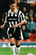 Football Photo JOHN McDERMOTT Grimsby Town 1997-98