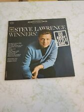 Steve Lawrence Winners! LP Vinyl Record