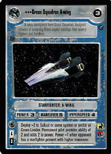 Green Squadron A-wing [slight wear] DEATH STAR II star wars ccg swccg