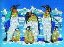 SEQUIN ARTE pinguini Craft KIT 0617 KSG SPEDIZIONE GRATUITA