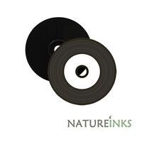 10 Nero Bassa Vinile effetto CD-R Bianco Stampabile Vuoti dischetti CD-R 52x
