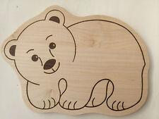Schneidebretter Holzbretter Motivbretter Frühstücksbrett Gravur Panda Holz Brett