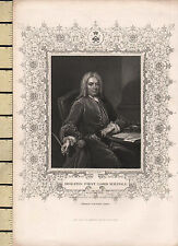 C1830 stampa Georgiano ~ Horatio ~ primo Lord Walpole