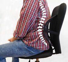 Rückenstütze Lordosenstütze NEU NEU auf Gewicht einstellbar Stuhl Autositz