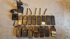 GE 2 WAY RADIO MPI SERIES GENERAL ELECTRIC LOT OF 9 VINTAGE