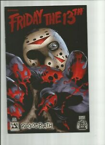 """NM LIMITED TO 1500 FRIDAY THE 13TH BLOODBATH 1 """"FEAR THE DARK""""  VARIANT COVER!"""
