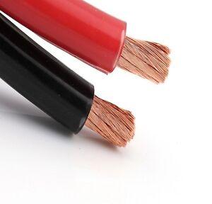 PVC FLEX BLACK RED BATTERY EARTH STARTER WELDING CABLE 110 AMP 16MM HIGH FLEX