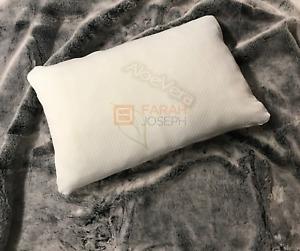 Aloevera Memory Foam Pillows (2) - Removable Cover