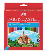 Faber-Castell 120148 Hexagonal-buntstifte Eco 48er Kartonetui