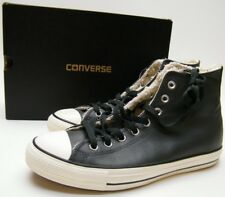 MENS NEW CONVERSE ALL STAR CHUCK TAYLOR CT HI STORM WIND GRAY LEATHER SHOES SZ 9