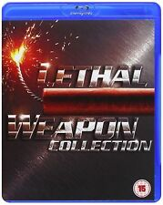 LETHAL WEAPON Anthology Complete Bluray Movie Collection Part 1 2 3 4 New Sealed