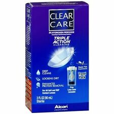 CLEAR CARE TRIPLE ACTION TRAVEL CLEANING SOLUTION 3 FL OZ EXPIRED 03/2019