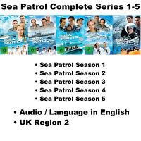 Sea Patrol Complete Series 1-5 DVD Collection Season 1 2 3 4 5 John Batchelor R2