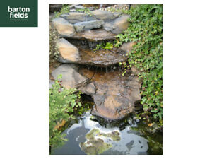 Pre-Formed Waterfall Feature, 'The Victoria Falls' Garden Stream - 1250mm Long