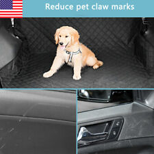 New listing Pet Cargo Trunk Liner for Dogs Car Suv Protector Cover WaterProof Dog Barrier Us