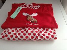 Christmas Pajama's - Red and white spotted Brand New with tags