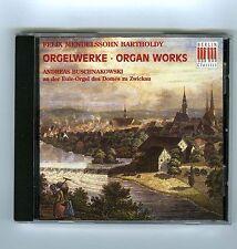 CD F.M.BARTHOLDY ORGAN WORKS ANDREAS BUSCHNAKOWSKI (BERLIN CLASSICS)