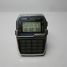 rare vintage casio DBC-150 Data Bank Calculator Watch HTF Dbc150 illuminator