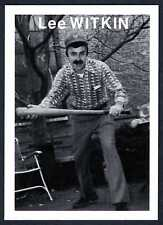 """""""LEE WITKIN"""" CARD #6 ~ RARE MIKE MANDEL 1975 BASEBALL PHOTOGRAPHER TRADING CARD"""