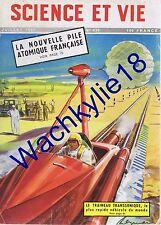Science et vie n°430 07/1953 Traineau transsonique Eaux-chaudes Aïssaouas Maroc