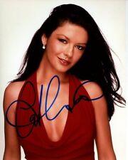 CATHERINE ZETA - JONES Signed Autographed Photo WIFE OF  MICHAEL DOUGLAS