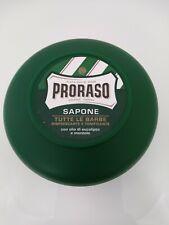 Proraso Shaving SOAP TUB 75ml 2.6oz GREEN Eucalyptus and Menthol GREEN