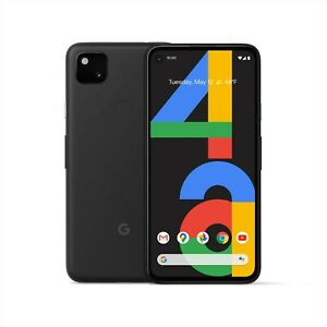 New Google Pixel 4A 5G 128GB - White / Black - Unlocked Free Expr [ AU-Seller ]