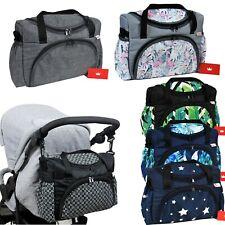 BABYLUX Kinderwagentasche WICKELTASCHE Pflegetasche Babytasche Windeltasche