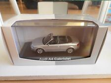 Norev Audi A4 Cabriolet in Grey on 1:43 in Box