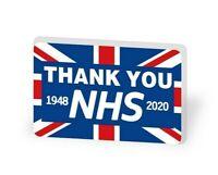 NHS Thank You Doctor Nurse LARGE Pin Badge UK union jack FLAG 1948 2020
