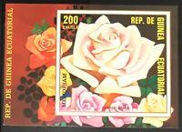 Equatorial Guinea #MiBl316 MNH S/S CVEUR7.00 Memoriam Roses