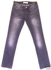 VIGOSS size 3/4 / 27 blue jeans stretch denim straight fit metal studded