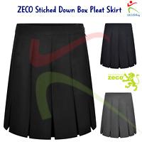 ZECO Girls Sleeveless Dress Bib Pinafore Polyester Overall School Uniform Wear
