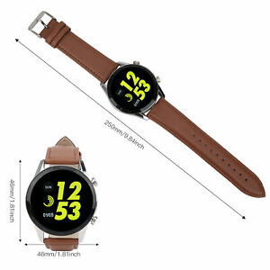 DT21 Portable Smartwatch Weather Report Touching Fitness Manage Watch Brown New