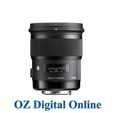 New Sigma 50mm F1.4 DG HSM Art 50 mm f/1.4 for Nikon 1 Year Au Wty