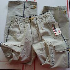 NWT Boys UnionBay Convertible Pants Shorts Elastic Waist Sand Light Tan Size 12