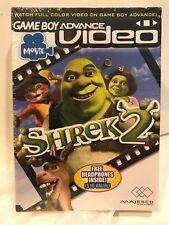 Game Boy Advance Video Movie Shrek 2 Nintendo Factory Sealed Includes Headphones