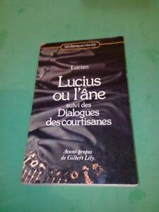 Lucien - Lucius ou l'âne - Les classiques interdits
