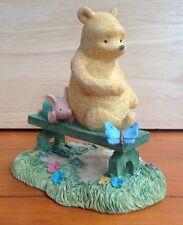 Border Fine Arts Classic Winnie The Pooh Sitting On A Bench