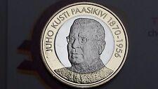 5 euro 2017 FINLANDIA Suomi Finland Finnland FINLANDE Juho PAASIKIVI Финляндия