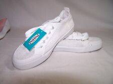 Women's Mad Love® Cheryl Mesh Lace-up Canvas Sneakers - White  size 7 NEW