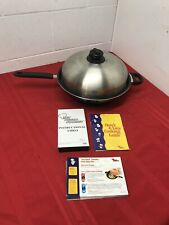Turbo Cooker 4 Piece Cooking System Recipes, Manual, Vhs , Scratches New Other