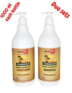 Hair Pro Jamaican Black Castor shampoo1000ml + conditioner 1000ml combo set
