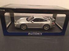 1/18 Autoart Porsche 911 (997) GT3 Silver 77997 NEW!