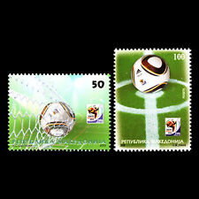 Macedonia 2010 - Football World Cup - South Africa - Sc 525/6 MNH