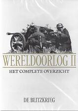 Wereld Oorlog 2  De Blitzkrieg - new seald dvd